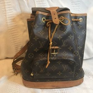 AUTHENTIC Louis Vuitton Backpack With dust bag